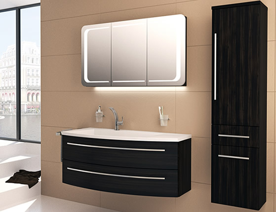 laguna wings badm bel von puris. Black Bedroom Furniture Sets. Home Design Ideas